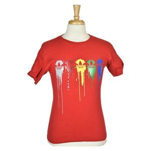 Adidas Graphic Tees SM Red